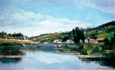 Chennevieres on the Banks of the Marne
