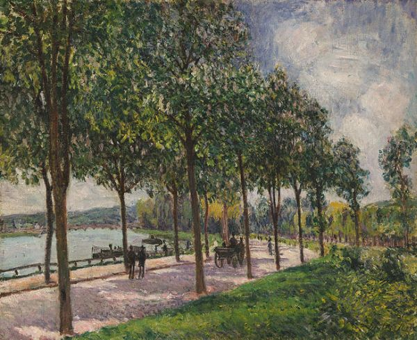 Allee of Chestnut Trees, 1878